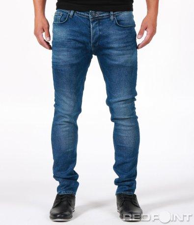 Класически модел сини дънки 6715