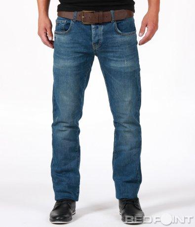 Спортно-елегантни сини дънки 6718