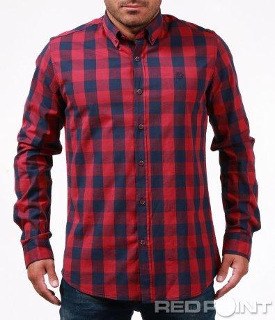 Атрактивна карирана риза 6708