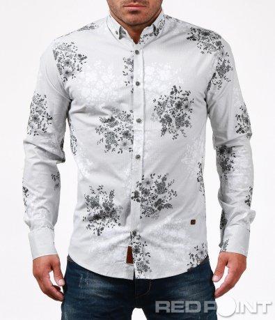 Ексцентрична бяла риза 6736