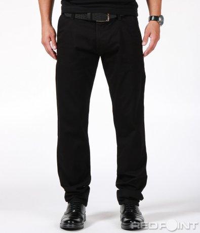Спортно-елегантен панталон с кожен колан 6891