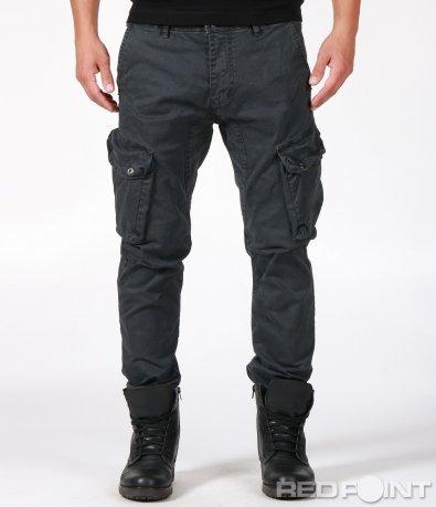 Ежедневен карго панталон с джобове 6938