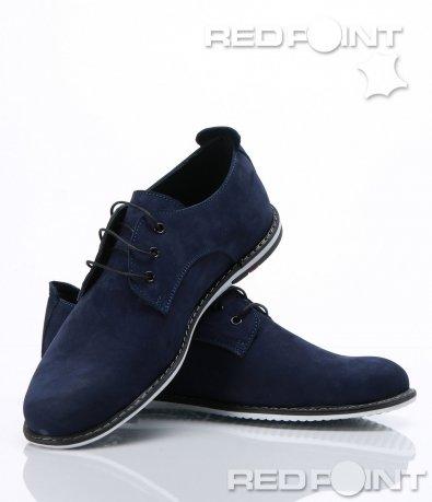 Елегантни обувки от естествен набук 6764