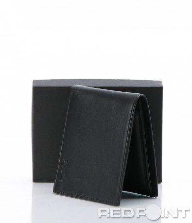 Практичен черен портфейл CK 6951