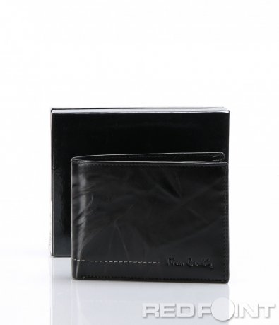 Кожен черен портфейл Pierre Cardin 6952