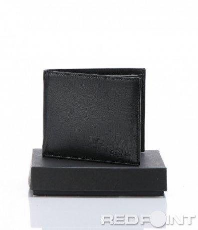 Марков портфейл в черен десен 6964