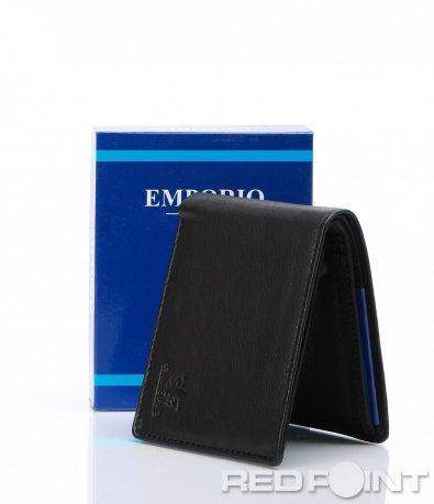 Черен портфейл Emporio 6965