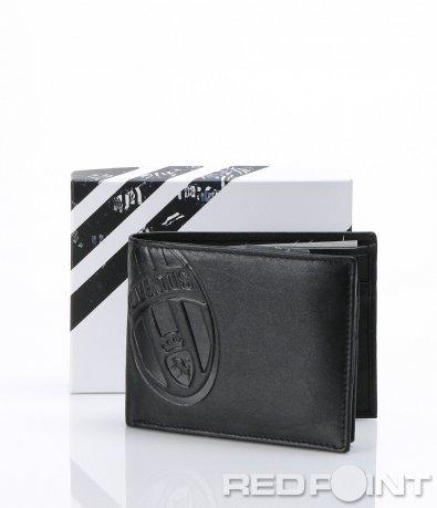 Черен портфейл с лого Juventus 6995