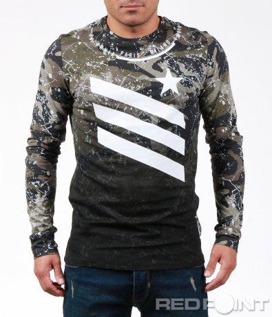 Атрактивна блуза с пръски 7004