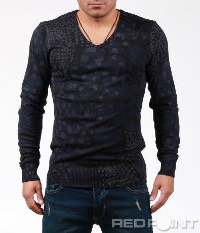 Ексцентрична блуза с дълъг ръкав 7005