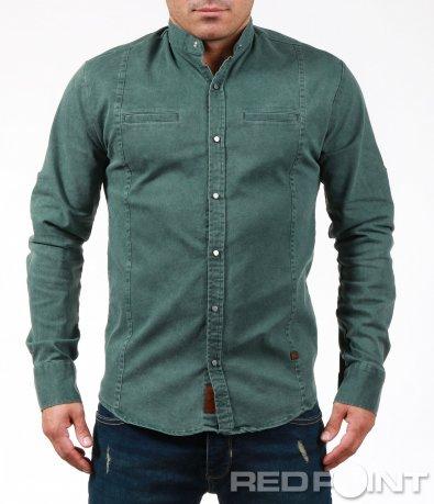 Ефектна риза с вталена кройка 7008
