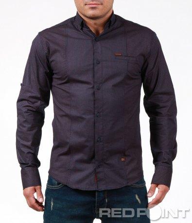 Стилна риза с мотиви 7009