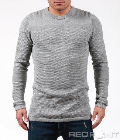 Стилна блуза с орнаменти 7017