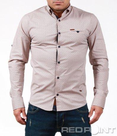 Впечатляващ модел риза на точки 6916
