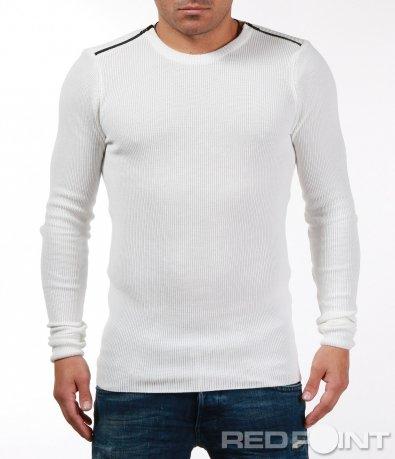 Изчистена блуза тип плетово 7092