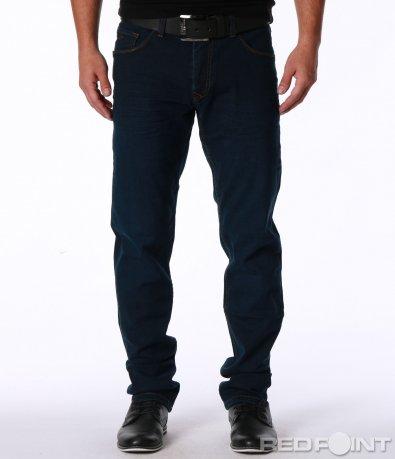 Изчистен дънков панталон 7149
