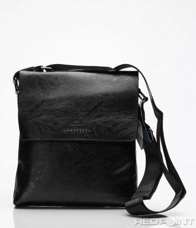 Черна чанта с капак 7194