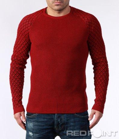 Еластична блуза с реглан ръкав 7135