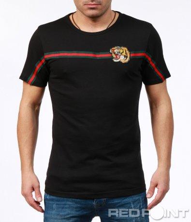 Тениска с нестандартна декорация 7253