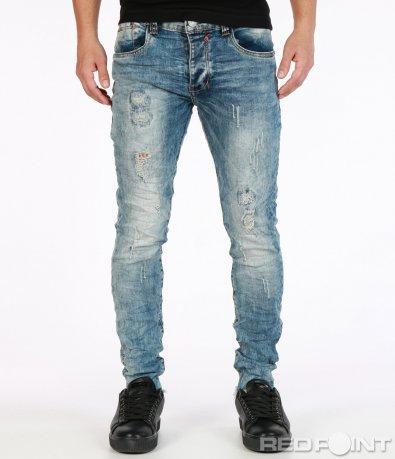 Интересен модел дънков панталон 7240