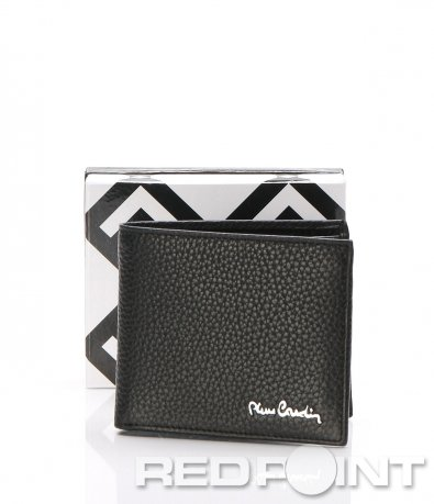 Кожен портфейл с лого Pierre Cardin 7285