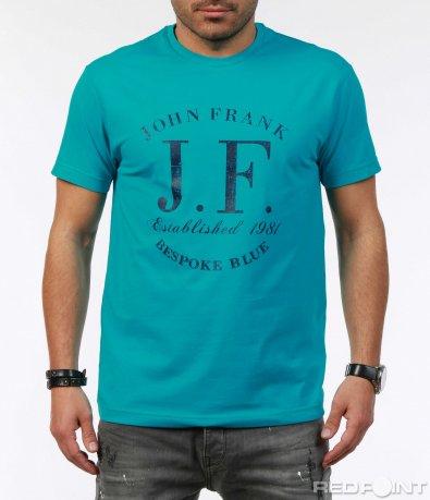 Класическа тениска с лого 7295
