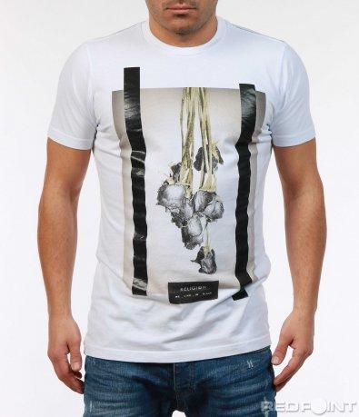 Тениска с интересен принт 7392