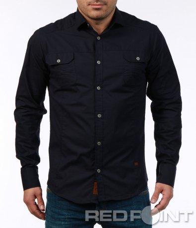 Стилна риза с джобове 7434