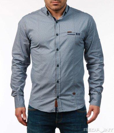 Еластична риза с орнаменти 7439