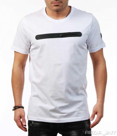 Тениска с акцентиращ мотив 7465