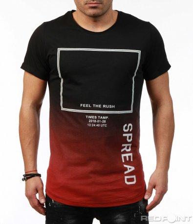 Тениска с преливащ ефект 7471