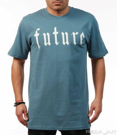 Свободна синя тениска 7455