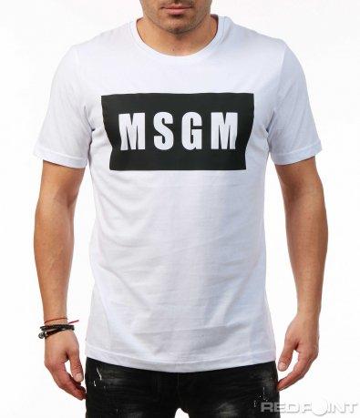 Тениска в два цвята 7491