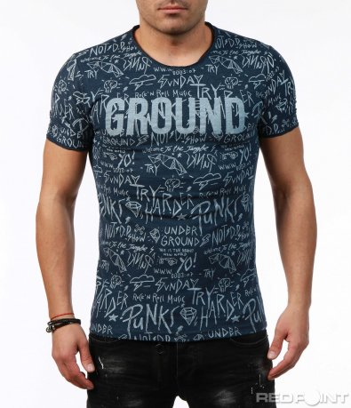 Вталена тениска 7492