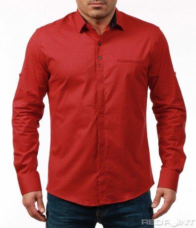 Ефектна риза с орнаменти 7494
