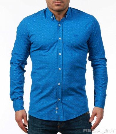 Атрактивна риза в наситен нюанс 7488