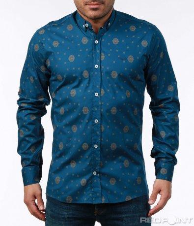 Синя риза стил барок 7480