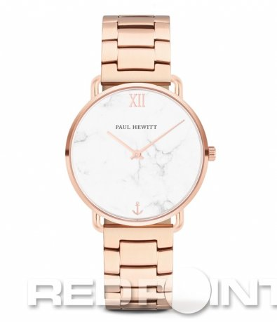 Елегантен розов часовник