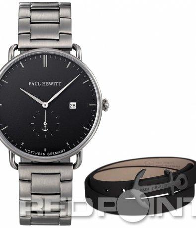 Изкючителен тъмно сив часовник