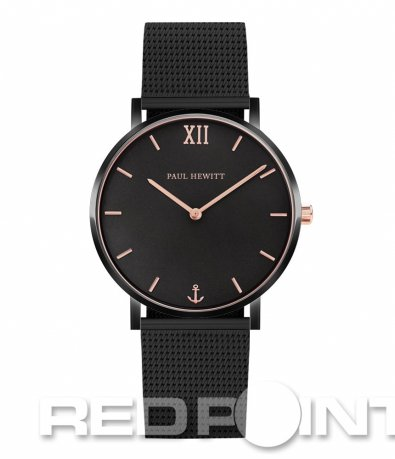 Черен часовник PAUL HEWITT