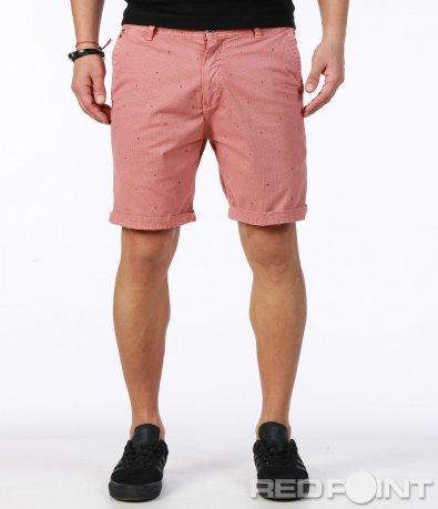 Къси панталони от памучен плат 7507