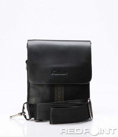 Стилна чанта с декоративен елемент 7525