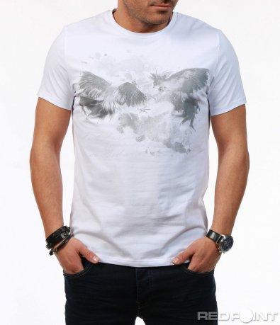 Тениска с апликация 7575