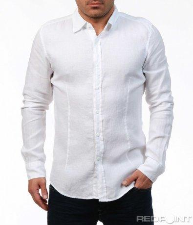 Бяла изчистена риза 7570