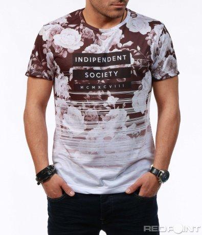 Тениска с преливащ елемент 7594
