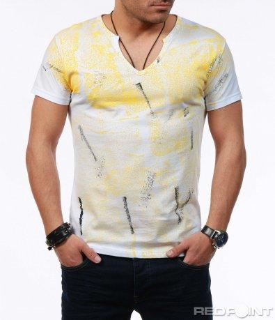 Лятна тениска с пръски 7597