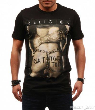 Памучна тениска Religion 7651