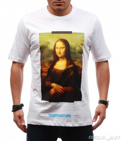 Тениска с нестандартна щампа 7652