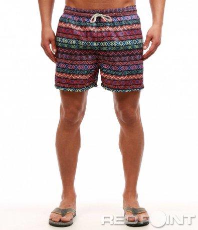 Цветни плажни шорти 7658