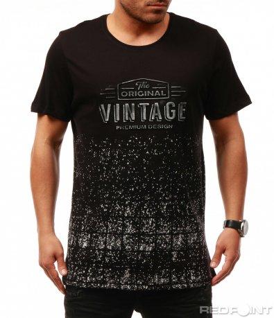 Тениска с vintage елемент 7674